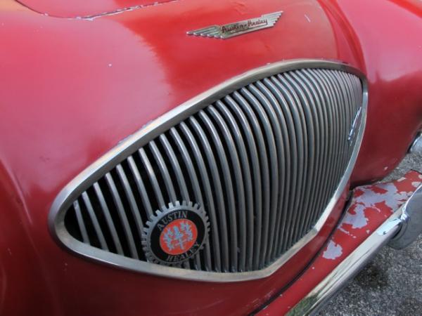 1954 Austin Healey 100 4 Grill