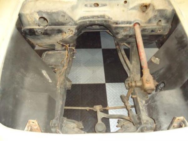 1954 Corvette Engine