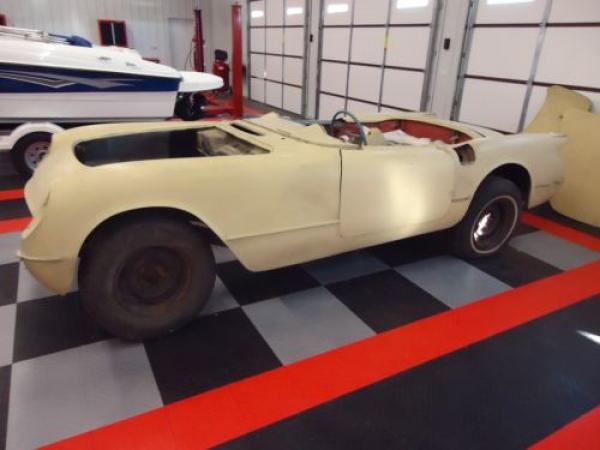 1954 Corvette Front