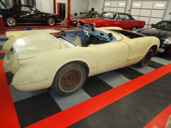 1954 Corvette Rear