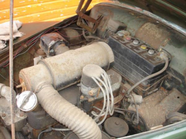 1954 Sunbeam Talbot 90 Sport Saloon Engine