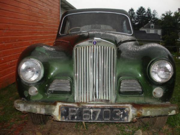 1954 Sunbeam Talbot 90 Sport Saloon Front