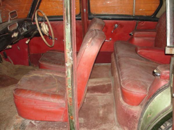 1954 Sunbeam Talbot 90 Sport Saloon Interior