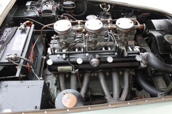 1955 Frazer Nash Le Mans Coupe Interior