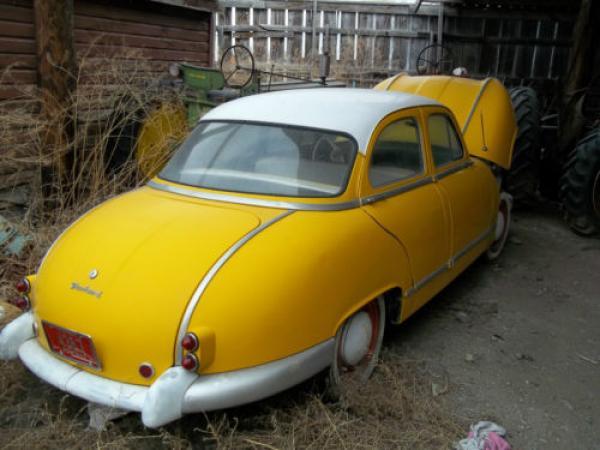 1955 Panhard Dyna Z Rear