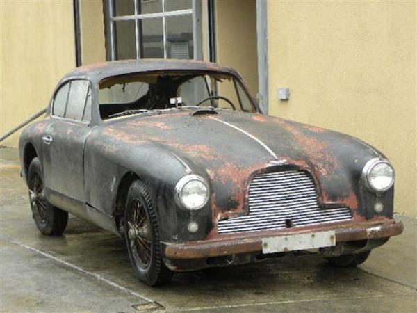 1955 Aston Martin Db24 Front Corner