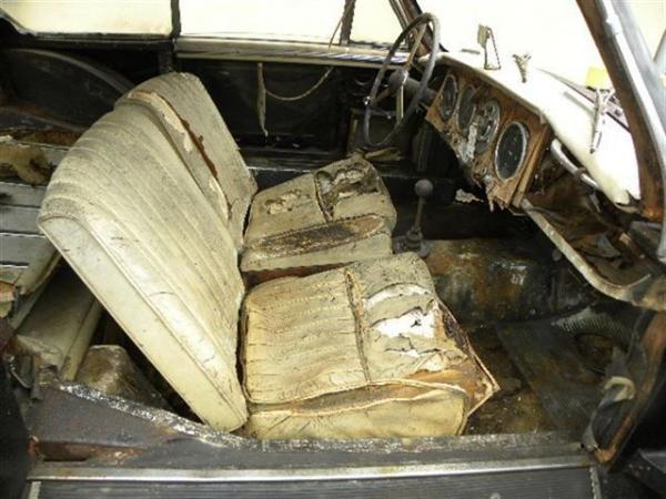 1955 Aston Martin Db24 Interior