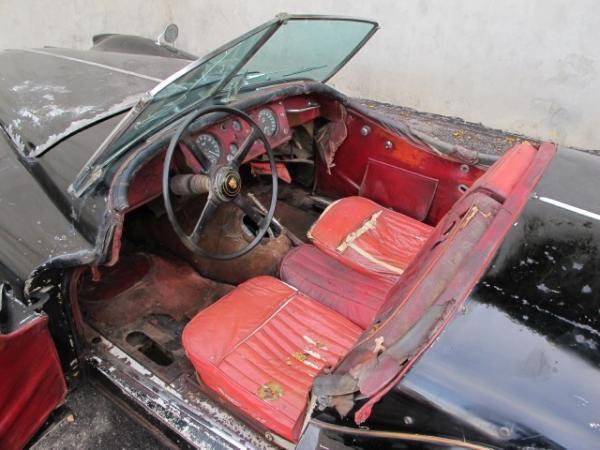 1956 Jaguar Xk140 Mc Interior