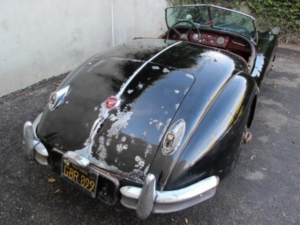 1956 Jaguar Xk140 Mc Rear Corner