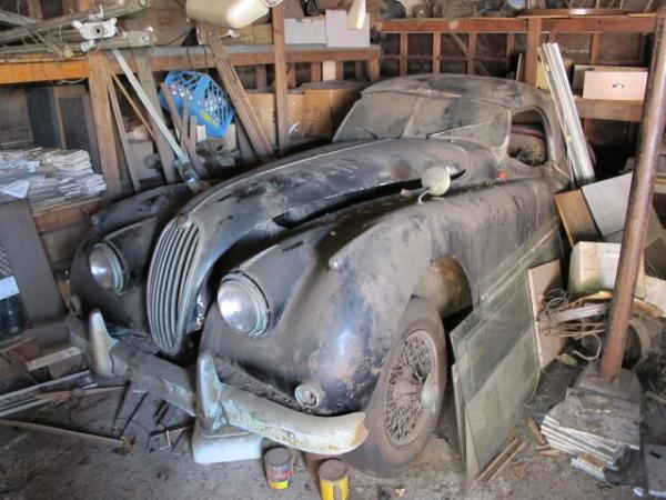 1956 Jaguar Xk140 Unearthed