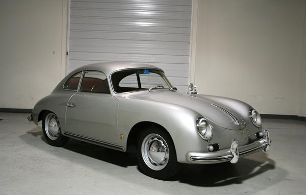1956 Porsche 356a Front Corner