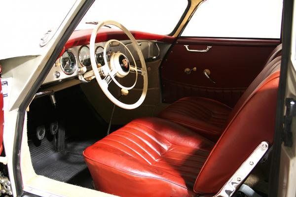 1956 Porsche 356a Interior