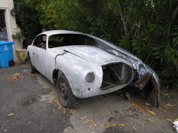 1956 Siata 1250 Gtz Zagato Front Corner
