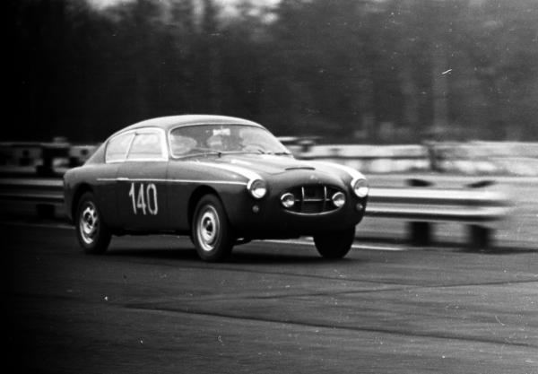 1956 Siata 1250 Gtz Zagato Racing At Monza