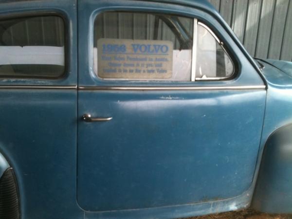 1956 Volvo Pv444 Sticker