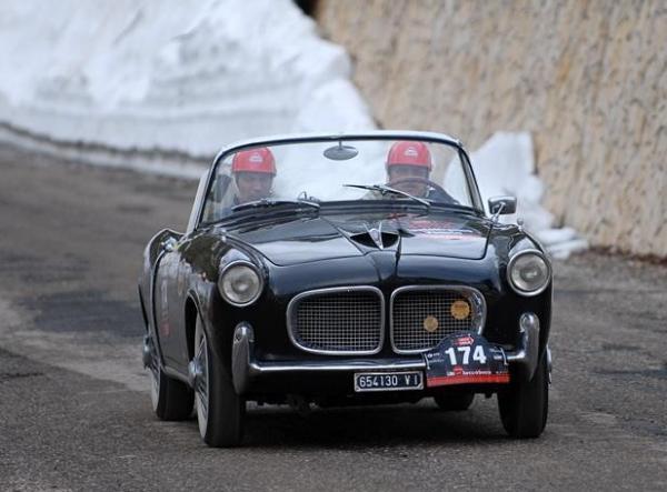 1956 Fiat 1100 Tv Spider Front Mille