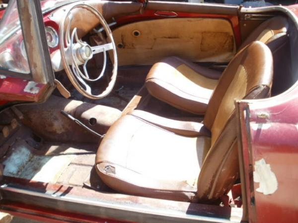 1956 Fiat 1100 Tv Spider Interior