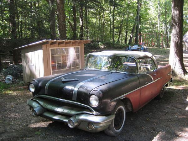 1956 Pontiac Star Chief Convertible Front Corner