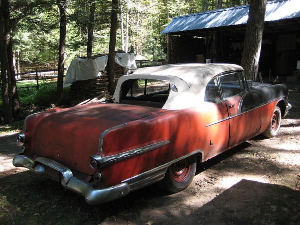 1956 Pontiac Star Chief Convertible Rear Corner
