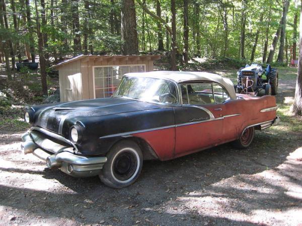 1956 Pontiac Star Chief Convertible Side