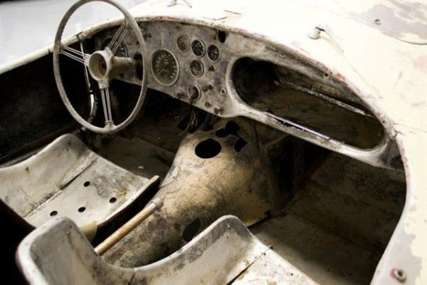 1957 Ac Bristol Race Car Project Interior