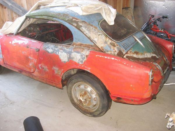 1957 Alfa Romeo Giulietta Veloce Spider Hardtop Side