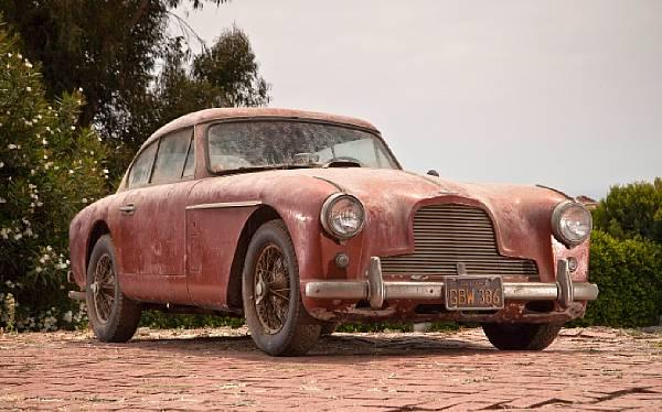 1957 Aston Martin Db2 4 Barnfind Front
