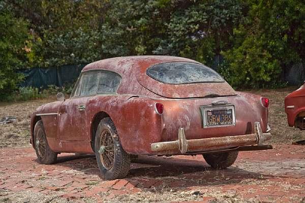 1957 Aston Martin Db2 4 Barnfind Rear