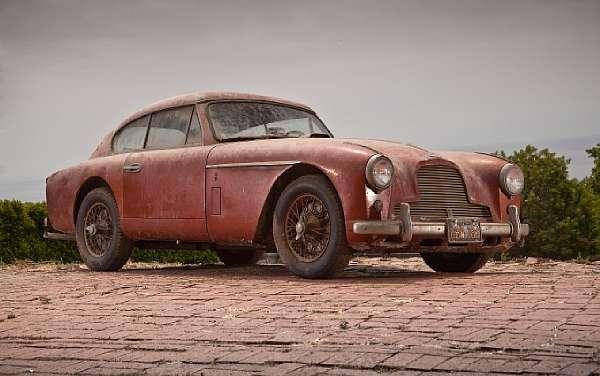 1957 Aston Martin Db2 4 Barnfind Side
