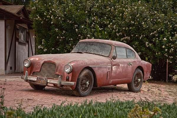 1957 Aston Martin Db2 4 Mkii Barn Find