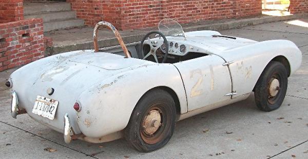 1957 Berkeley Sports Racer Project Rear
