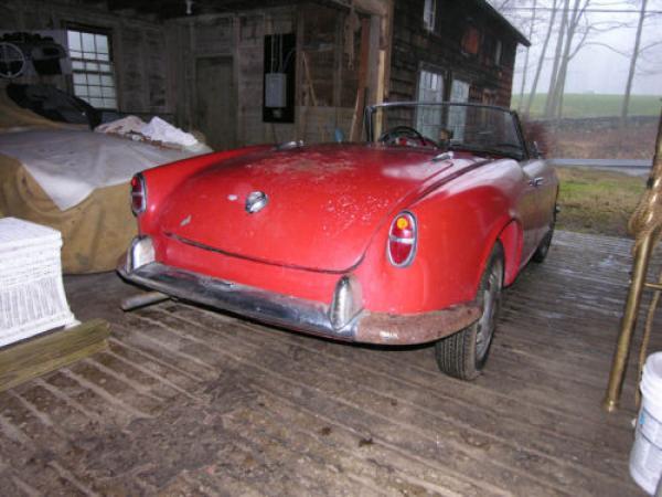 1957 Alfa Romeo Giulietta Veloce Spider Rear Corner