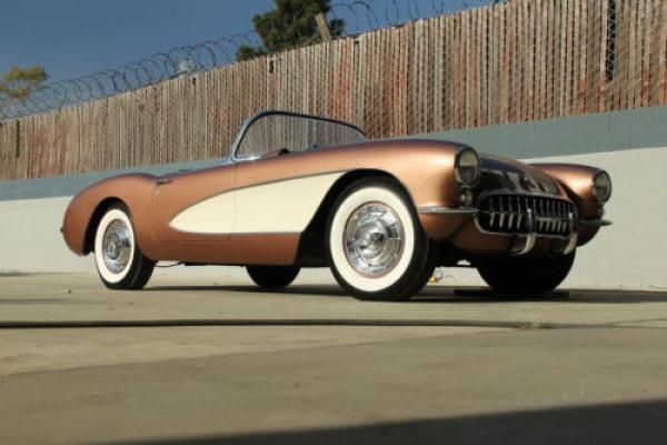 1957 Chevrolet Corvette Front Corner