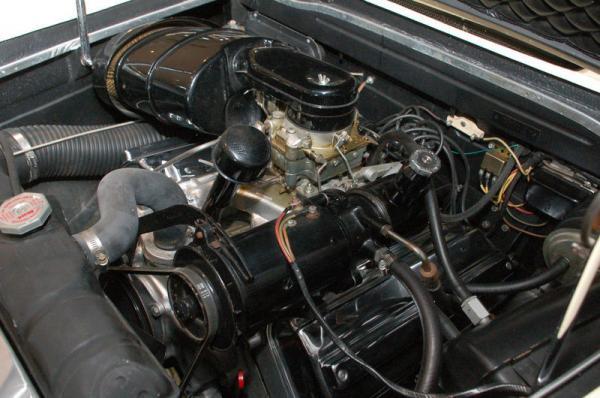 1957 Dual Ghia Engine
