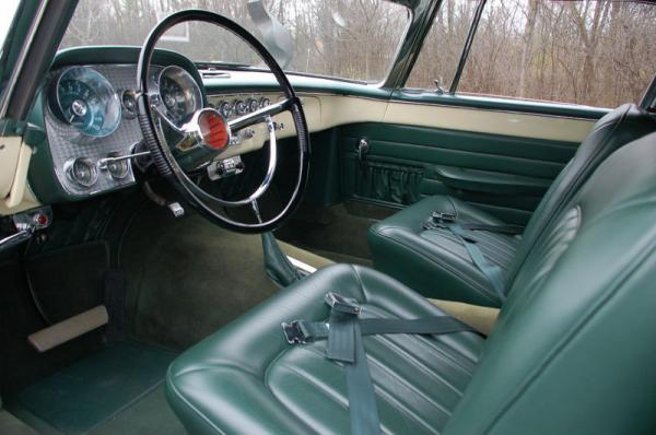 1957 Dual Ghia Interior