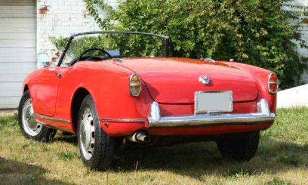 1958 Alfa Romeo Spider Driver Back