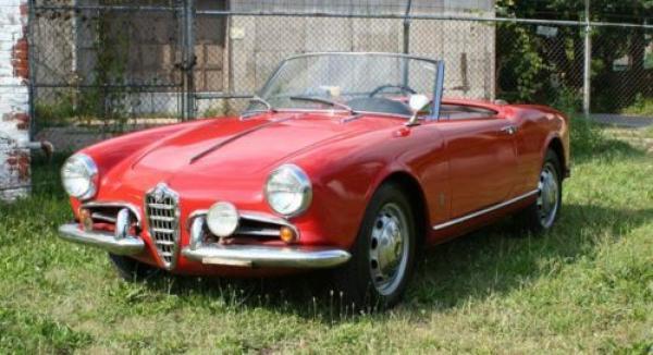 1958 Alfa Romeo Spider Driver Front