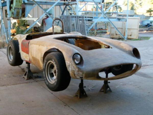 Kit Cars To Build Yourself In Usa: Derelict Devin Mystery Racer: 1958 Devin SS