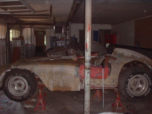 1958 Devin Ss Garage Find
