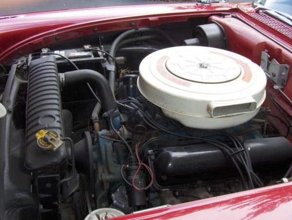 1958 Ford Fairlane 500 Survivor Engine