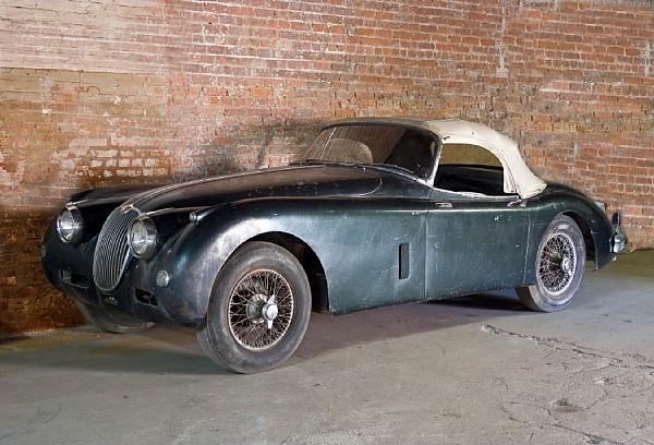 1958 Jaguar Xk150 Barn Find