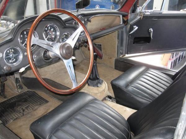 1958 Aston Martin Db24 Mk3 Interior