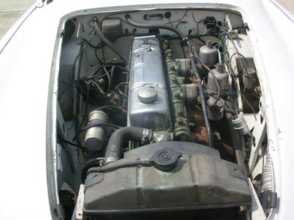 1958 Austin Healey 100 6 Engine
