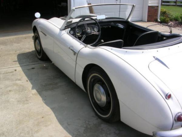 1958 Austin Healey 100 6 Rear Corner