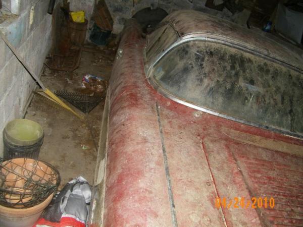 1958 Chevrolet Corvette Down Side