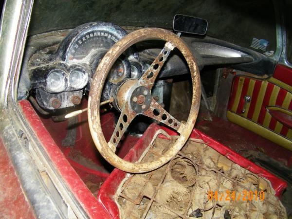 1958 Chevrolet Corvette Interior