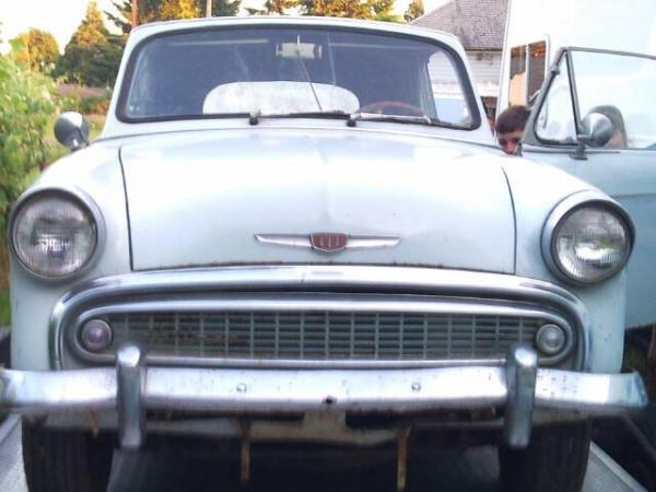 1958 Hillman Minx Convertible Front