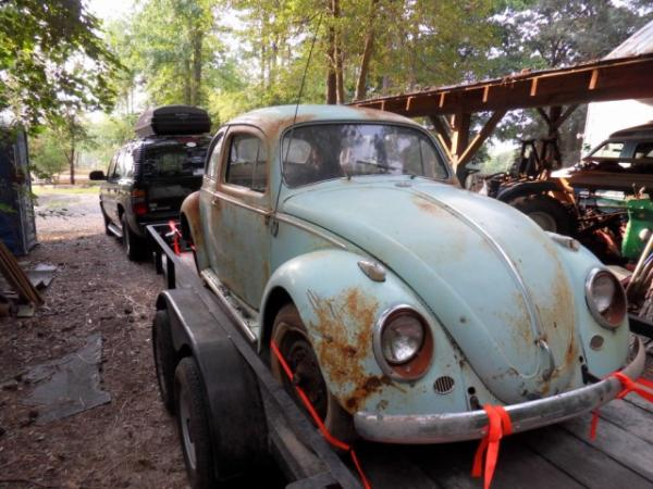 1958 Vw Euro Beetle Front Corner