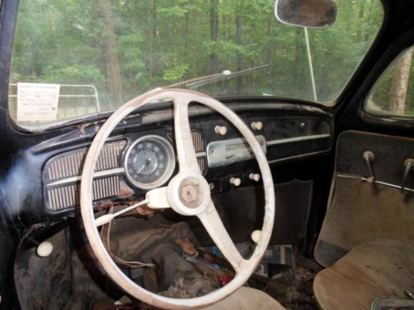 1958 Vw Euro Beetle Interior