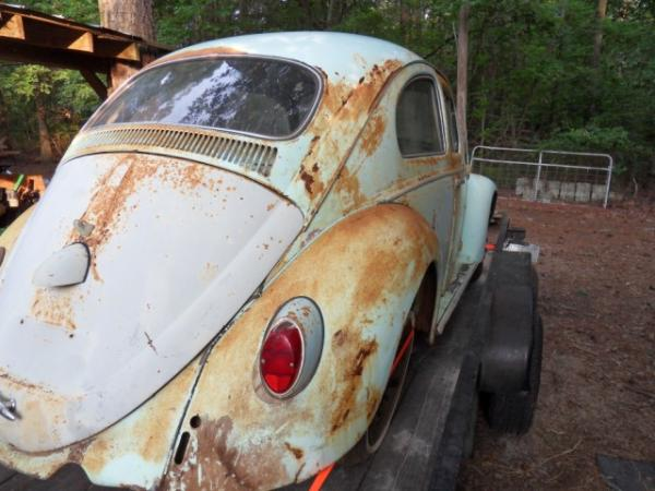 1958 Vw Euro Beetle Rear Corner